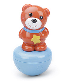 Sunny Happy Circus Roly Poly Toy - Brown And Pink