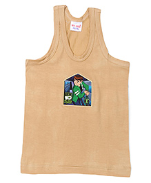 Ben 10 Printed Vest - Brown