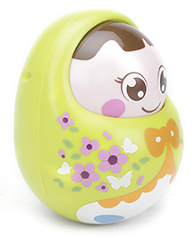 Sunny Tumbler Roly Poly Doll - Green