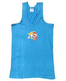 Doraemon Printed Vest - Blue