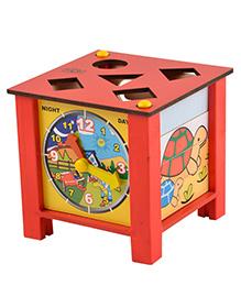 Skillofun - Wooden Multi Activity Box