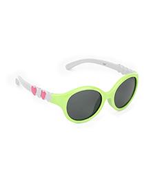 De Berry Heart Sunglasses - Green