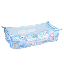 Mothertouch Indo Baby Cradle Cover Bear Print - Blue