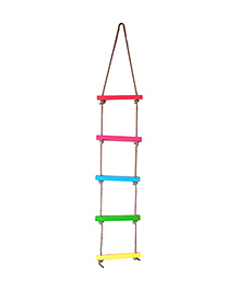 Skillofun Rope Wooden Ladder 5 Dowels