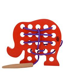 Skillofun - Sewing Wooden Toy Elephant