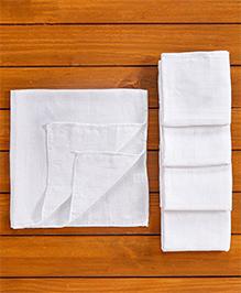 Tinycare Cloth Square Nappy Medium - Set Of 5