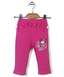 Notty Kid Stylish Track Pant - Pink