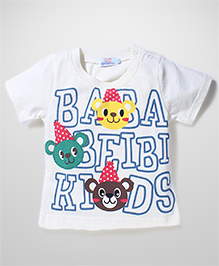 Notty Kid Adorable T-shirt - White