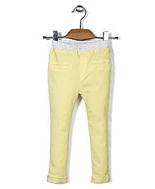 Mini Pink Pant - Yellow