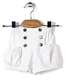 Petit Cucu Shorts - White