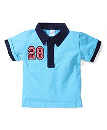 Poly Kids Trendy T-Shirt - Aqua Blue