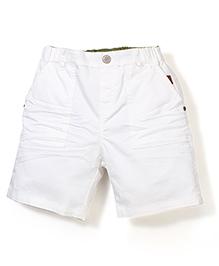 Petit Cucu Half Pant - White