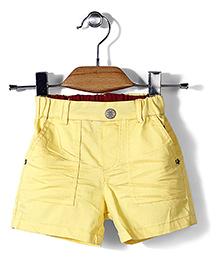 Petit Cucu Half Pant - Yellow