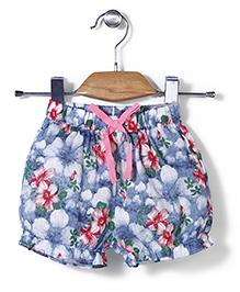 Petit CuCu Floral Print Shorts - Multicolour
