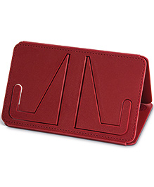 Mufubu Travel Book Rest - Country Crimson