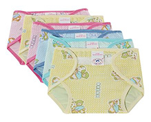 Mothers Choice Waterproof Nappy New Born - Set of 6