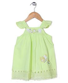 Dazzle Kid Casual Dress - Light Green