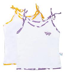 Knotty Kids Knot Jabla Set Of 2 - Yellow & Purple