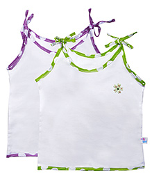Knotty Kids Knot Jabla Set Of 2 - Green & Purple
