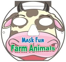 Mask Fun Farm Animals