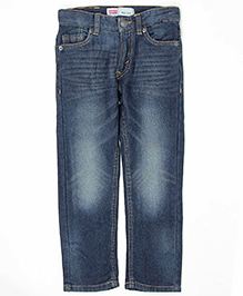 Levis Full Length Jeans - Dark Blue