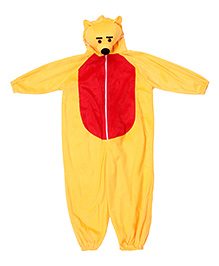 Gifts World Hooded Jumpsuit Style Bear Costume - Yellow