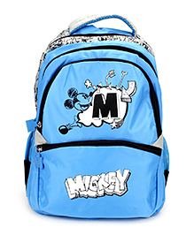 Disney Mickey Teens Live Your Dreams Backpack Blue - 16 inche