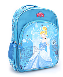 Disney Princess Cinderella Magic Backpack Blue - 18 inches