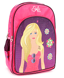 Steffi Love School Backpack Pink - 18 inches