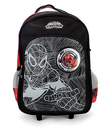 Marvel Spider Man Teen School Backpack Black - 18 inches