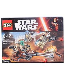 Lego Star Wars Rebel Alliance Battle Construction Set -101 Pieces