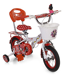 Hero Disney Minnie Mouse Bicycle - Red