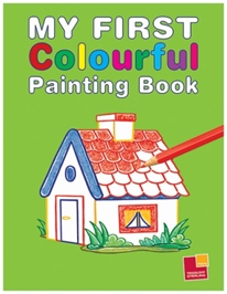 Sterling - Green My First Colourful Painting Book