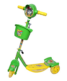 Dash by ARK Musical Scooter Green - NoddyDxG