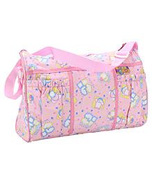 Mee Mee Nursery Bag Bear Print - Light Pink