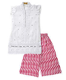 Shruti Jalan Kurta & Pallazo Pant Set - White