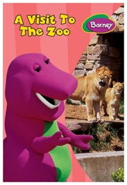 Barney - A Visit To The Zoo Barney Board Book