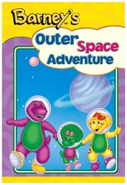 Barney - Outer Space Adventure Barney Board Book