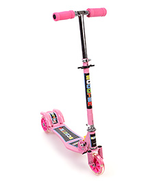 Three Wheel Scooter - Pink