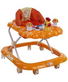 Musical Baby Walker - Orange