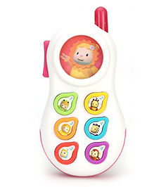 Smoby Cotoons Phone - White And Pink
