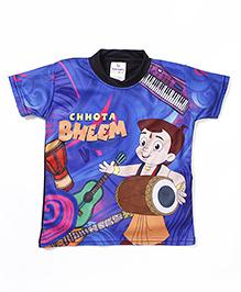 Chhota Bheem Printed Swim T-Shirt - Royal Blue