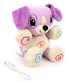 Leap Frog Scout My Puppy Pal Purple - 25 Cm