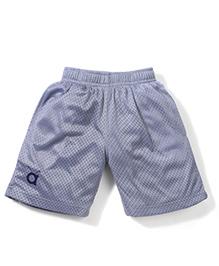 Anthill Pull On Shorts Dot Print - Grey