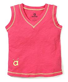Anthill Sleeveless T-Shirt - Pink