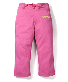 Anthill Straight Pant - Pink