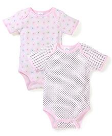 Little Wacoal Set Of 2 Onesie - Pink