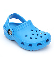 Crocs Clogs With Back Strap - Blue