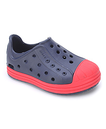 Crocs Shoes Style Clogs - Navy Red