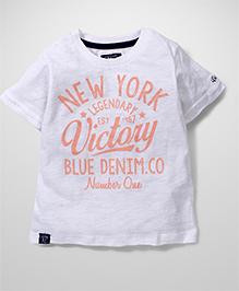 Little Wonder New York Print T-Shirt - White